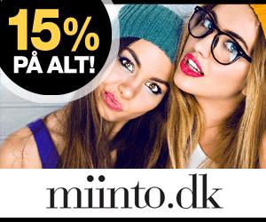 15% Miinto rabatkode