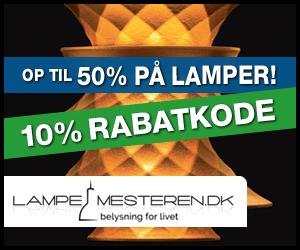 10% rabatkode Lampemesteren