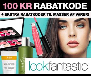 20% Lookfantastic rabatkode hudprodukter