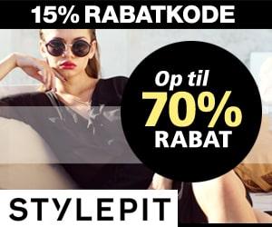 Stylepit 70% rabat
