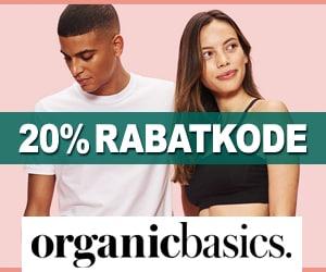 OrganicBasics 20% rabatkode