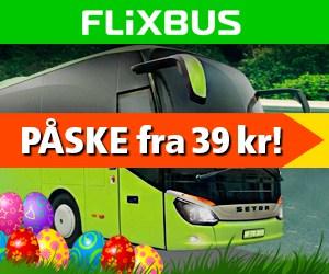 Flixbus fra 39 kr