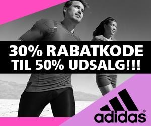 Adidas 30% rabatkode