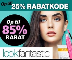 Lookfantastic 25% rabatkode