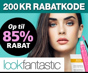 Lookfantastic 200 kr rabatkode