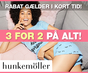 2 for 3 Hunkemöller rabat