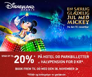 Disneyland 20% rabat