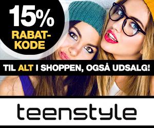 Teenstyle 15% rabatkode