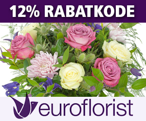 Euroflorist 12% rabatkode
