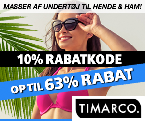 Timarco 10% kampagnkode