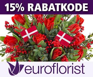 Euroflorist 15% rabatkode
