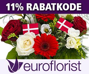 Euroflorist 11% rabatkode