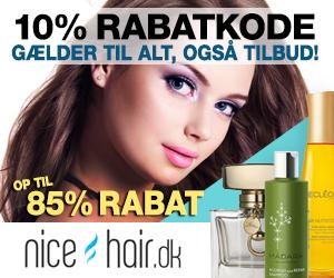NiceHair 10% rabatkode