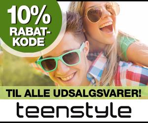 Teenstyle 10% rabatkode