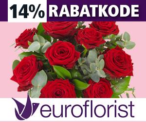 Euroflorist 14% rabatkode