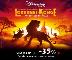 Disneyland op til 35% rabat