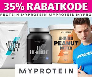 MyProtein 35% rabatkode