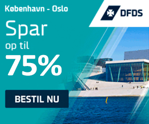 75% DFDS Seaways bookingkode
