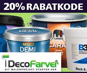 20% Decofarver rabatkode
