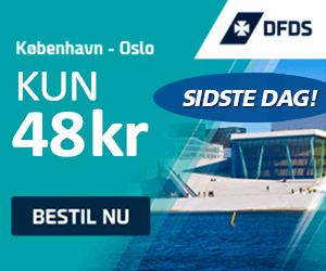Booking kode DFDS Seaways