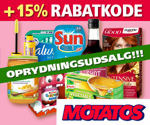 10% Motatos rabatkode