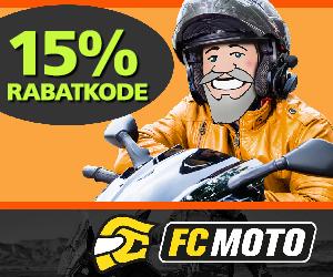 FC-Moto15% rabatkode