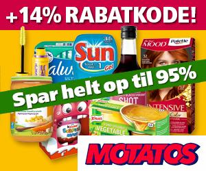 14% Motatos rabatkode
